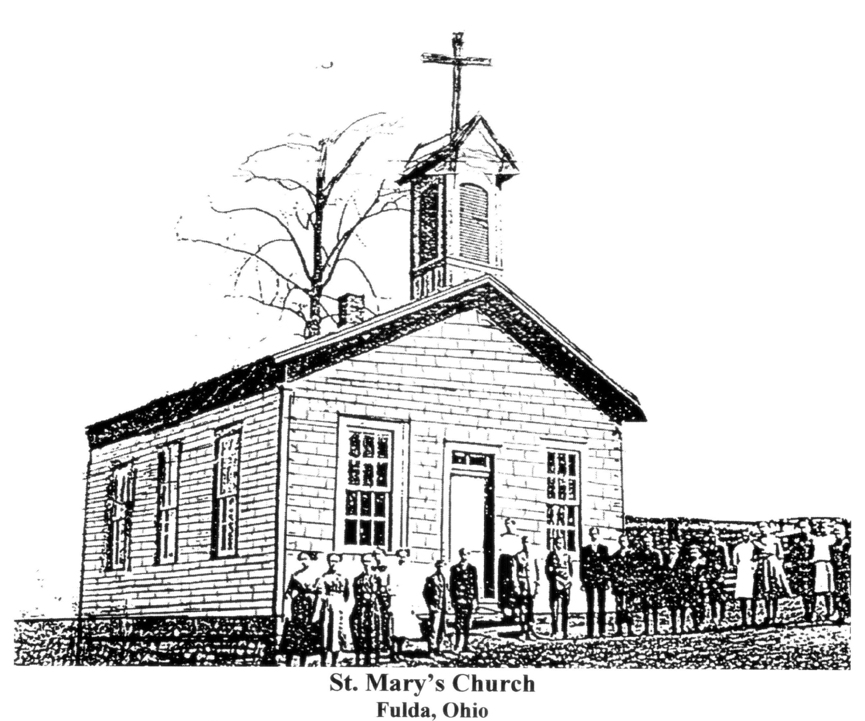 Church Building Drawing